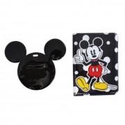 Porta Passaporte e Tag de Mala - Mickey Poá