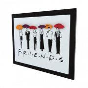 Quadro 3D Seriado Friends Personagens