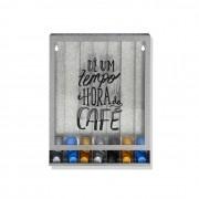 Quadro Porta Cápsulas Café Tempo