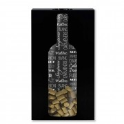 Quadro Porta Rolhas Menor Vinho