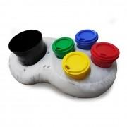 Super Almofada Pipoca com 4 Copos e Balde - Controle de Video Game