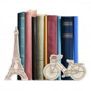 Suporte Aparador De Livro Dvd Cds - Paris Torre Eiffel
