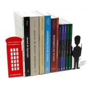 Suporte Aparador De Livros Dvd Cd Londres E Soldado