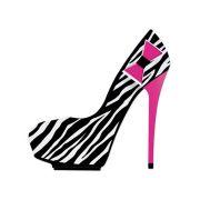 Trava de Porta Sapato Deu Zebra