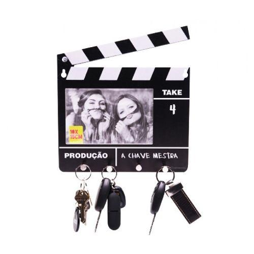 Porta Chaves Claquete Cinema Com Foto