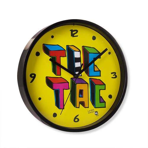Relogio De Parede Tic Tac - Colorido