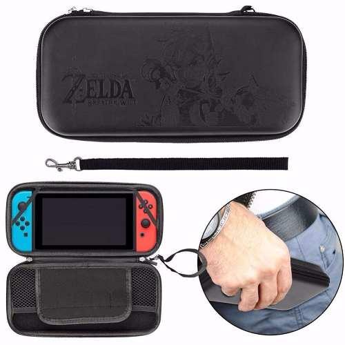 Case Bolsa Capa Bag Estojo Nintendo Switch Zelda