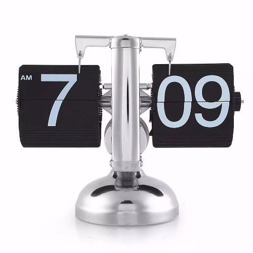 Relógio De Mesa Retro Flip Estilo Aeroporto