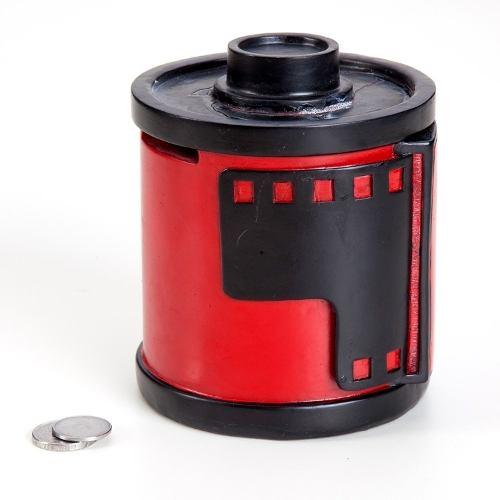 Cofre Porta Moedas Filme De Revelar 35mm De Resina