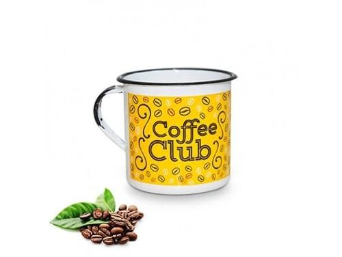 Caneca Metal M Coffee Club - Várias Cores