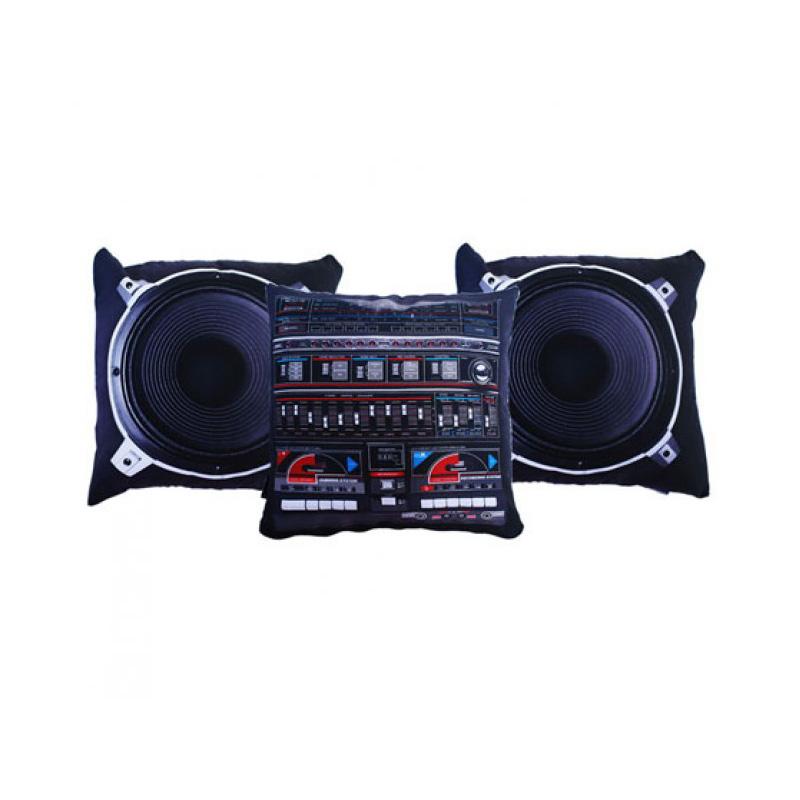 Conjunto 3 Capas de Almofadas 45x45 Sound System
