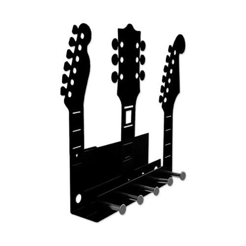 Porta Chaves E Cartas Guitarras Violão