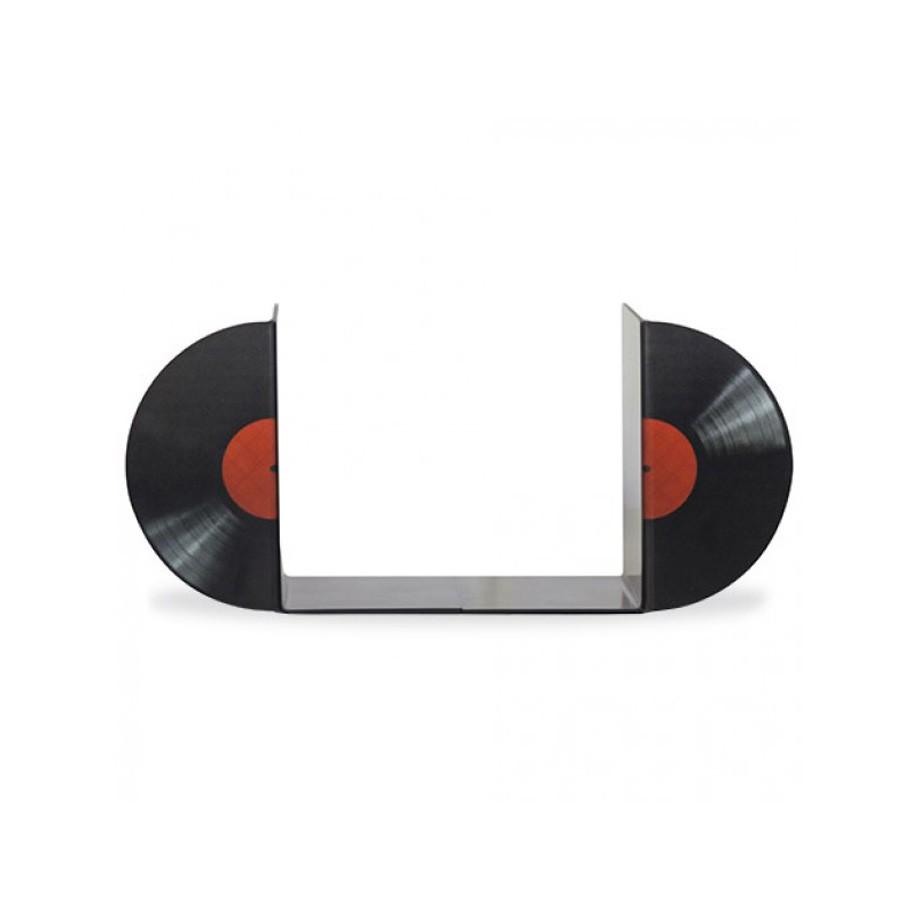 Suporte Aparador De Livros Dvd Cd - Disco de Vinil