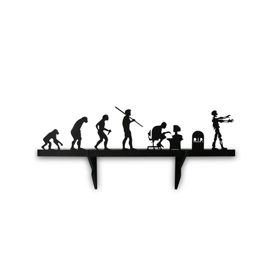 Prateleira Geek Evolução Zumbi