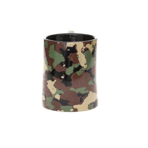 Caneca Com Alça Anel Soco Inglês Camuflado Militar - 350ml