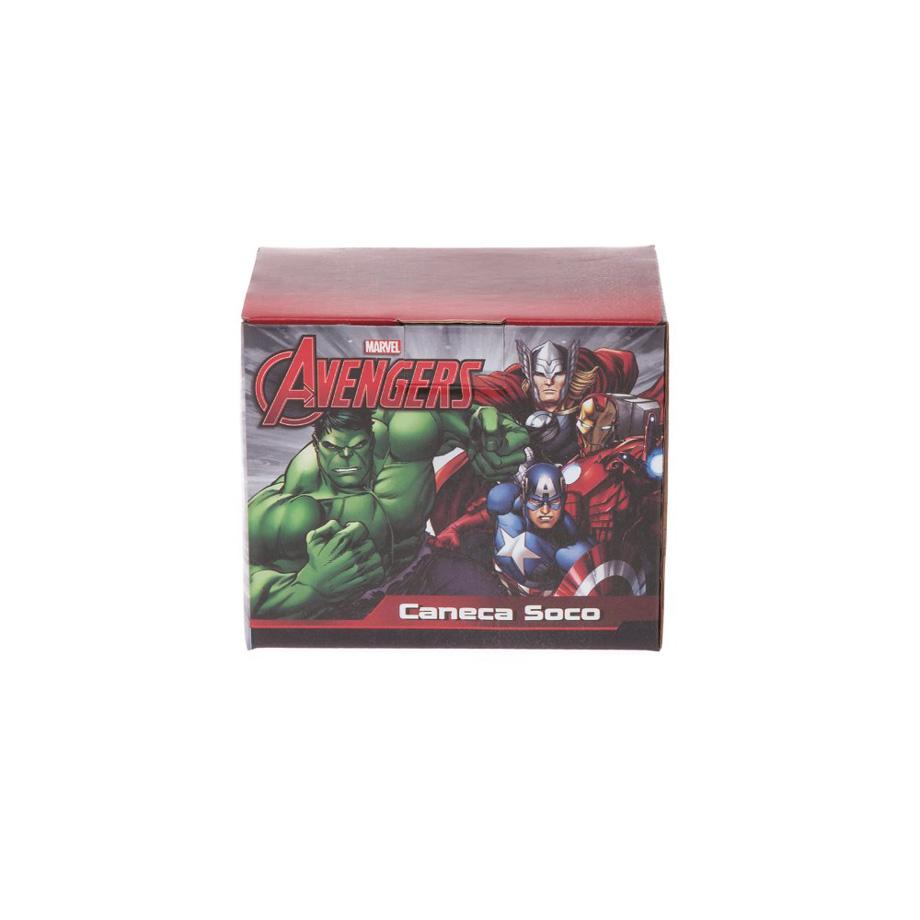 Caneca Soco Inglês Marvel Capitão América Vingadores
