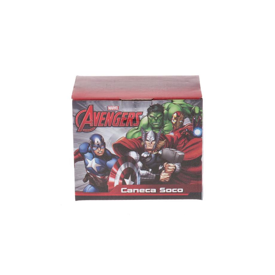 Caneca Soco Inglês Marvel Hulk Vingadores