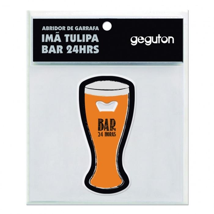 Abridor de Garrafa Imã Tulipa Bar 24hrs