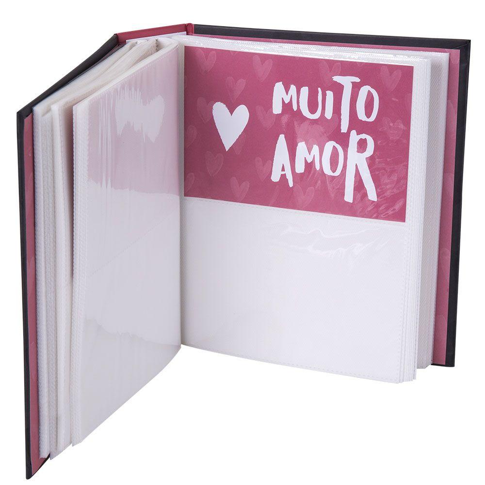 Álbum de Fotos 10x15 Livro - Melhor Amor