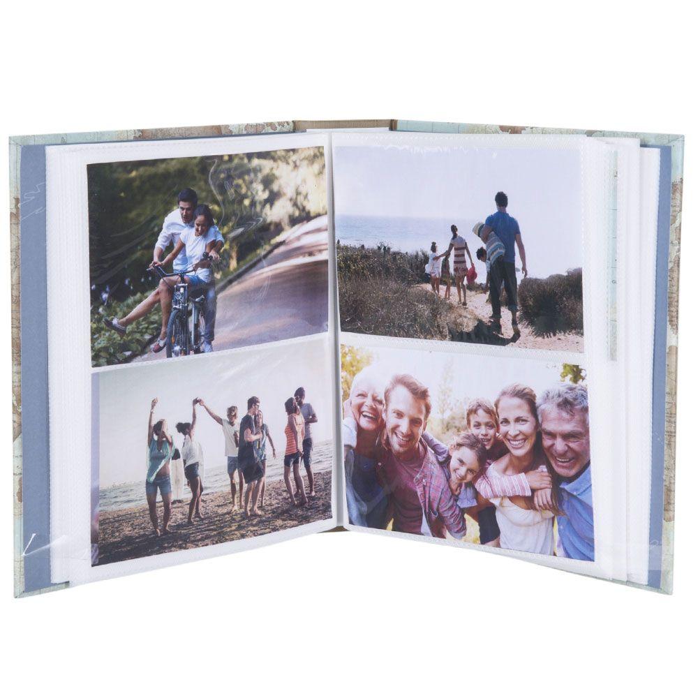 Álbum de Fotos 10x15 Livro Viagem - Reviva Cada Momento