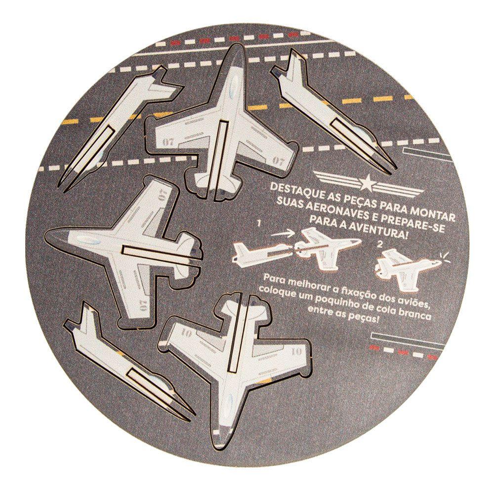 Almofada de Pipoca Aviões - Dias de Luta