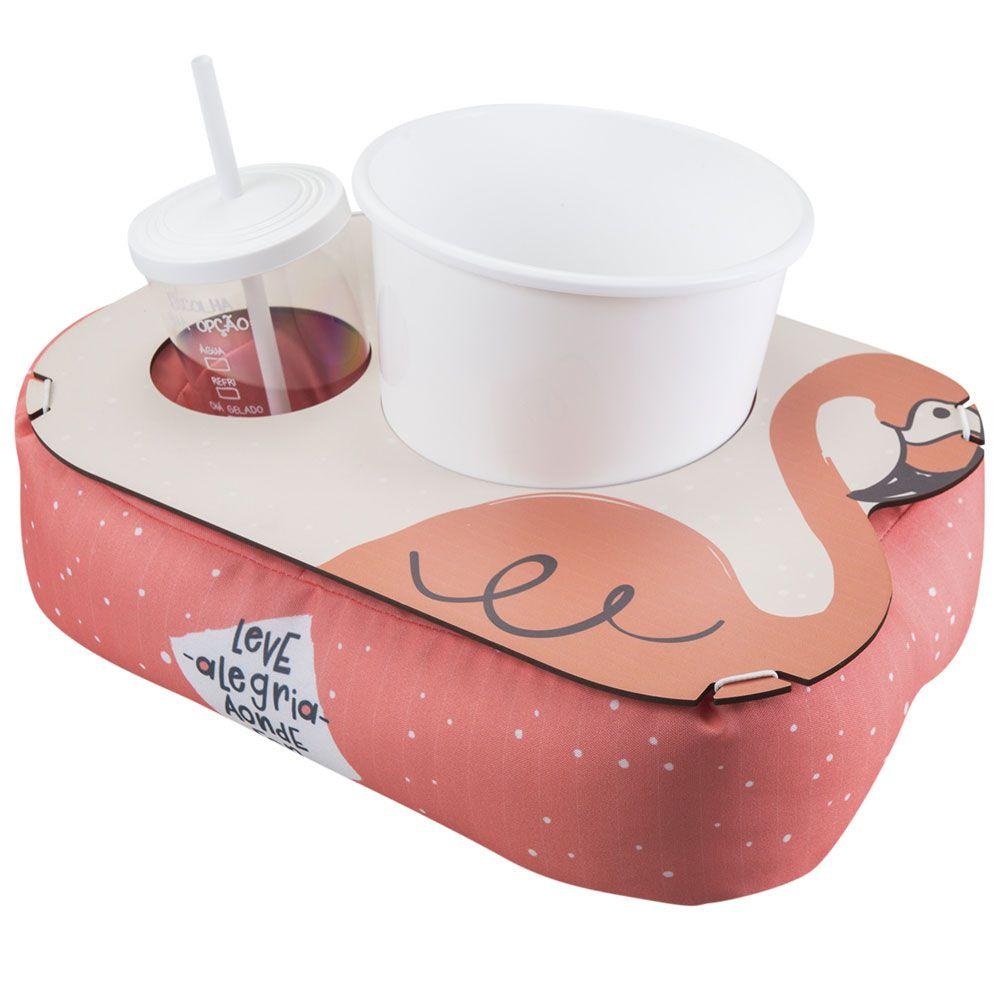 Almofada de Pipoca Shape - Flamingo