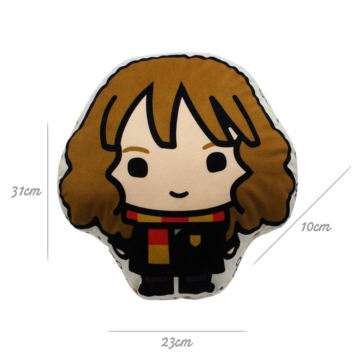 Almofada Decorativa Formato Hermione Granger Harry Potter