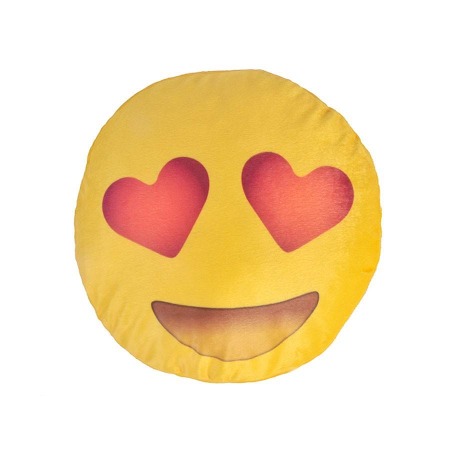 Almofada Emoji Apaixonado 40cm