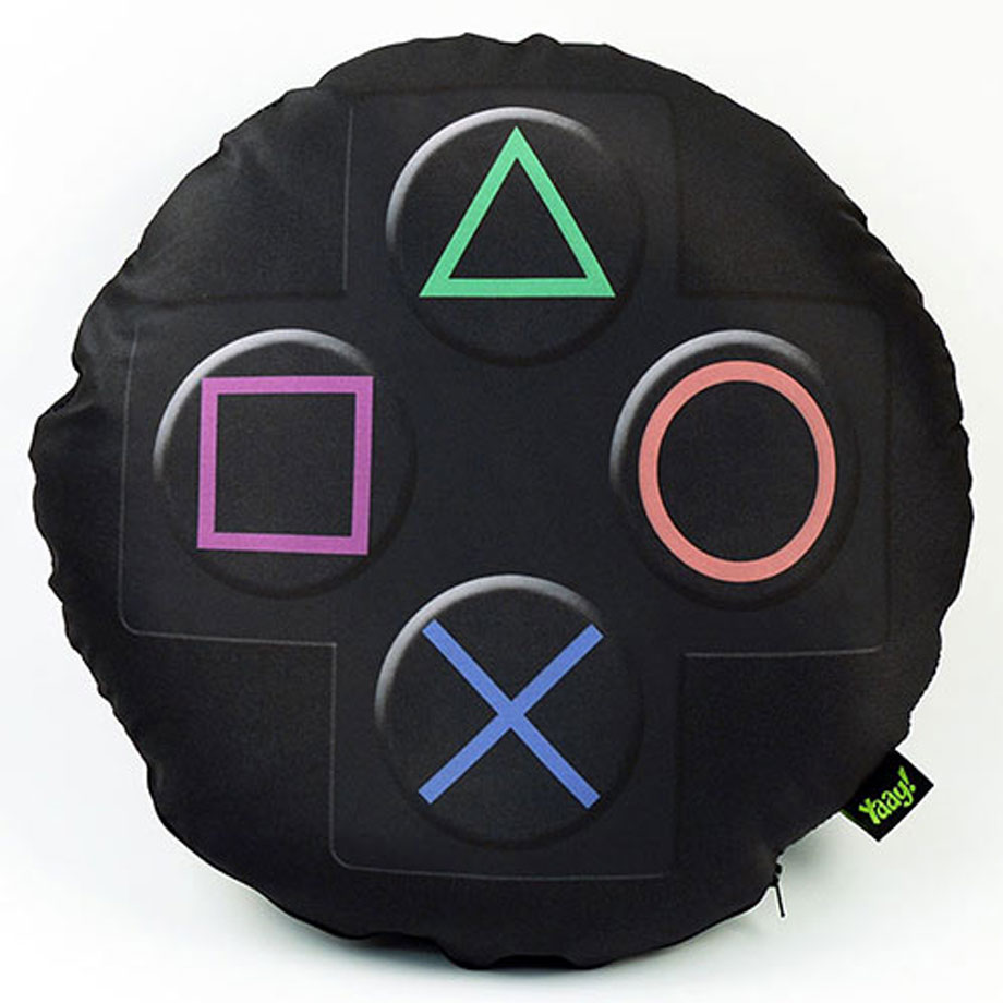 Almofada Gamer Joystick PS3 e PS4