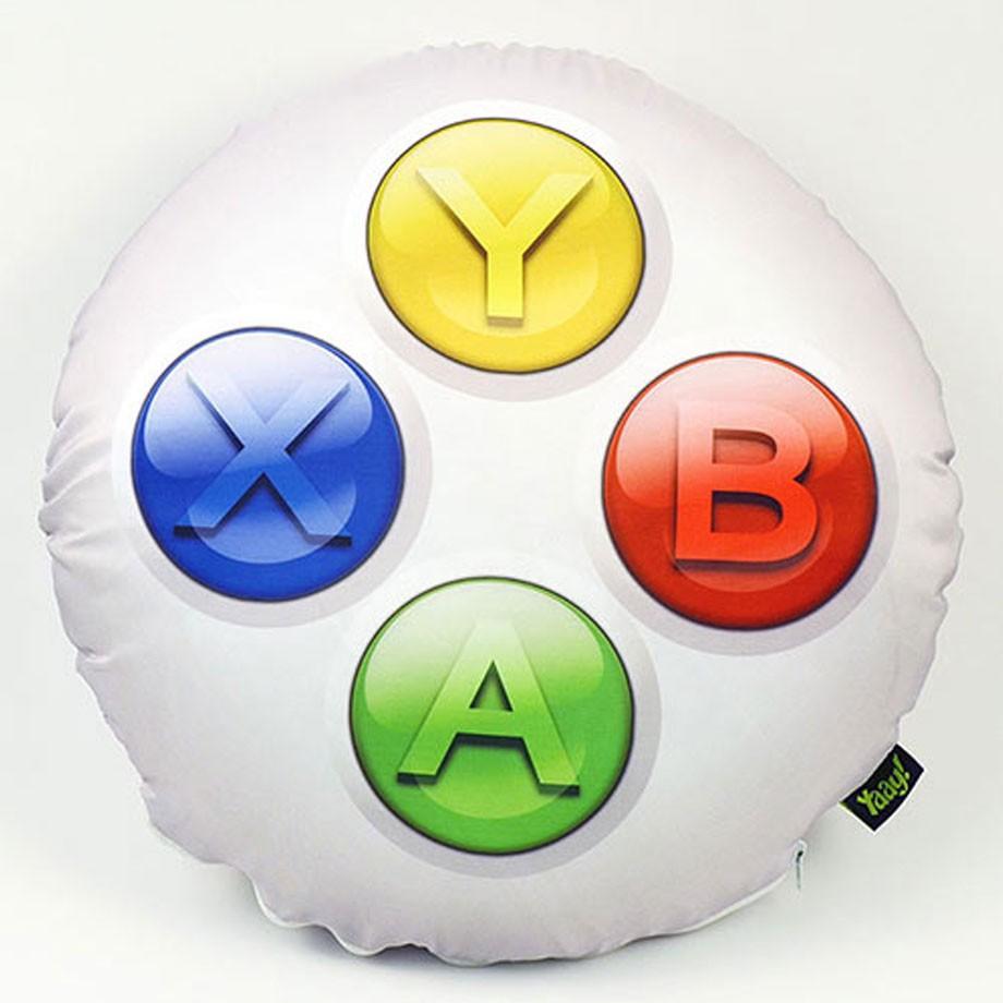 Almofada Gamer Joystick Xbox ABYX