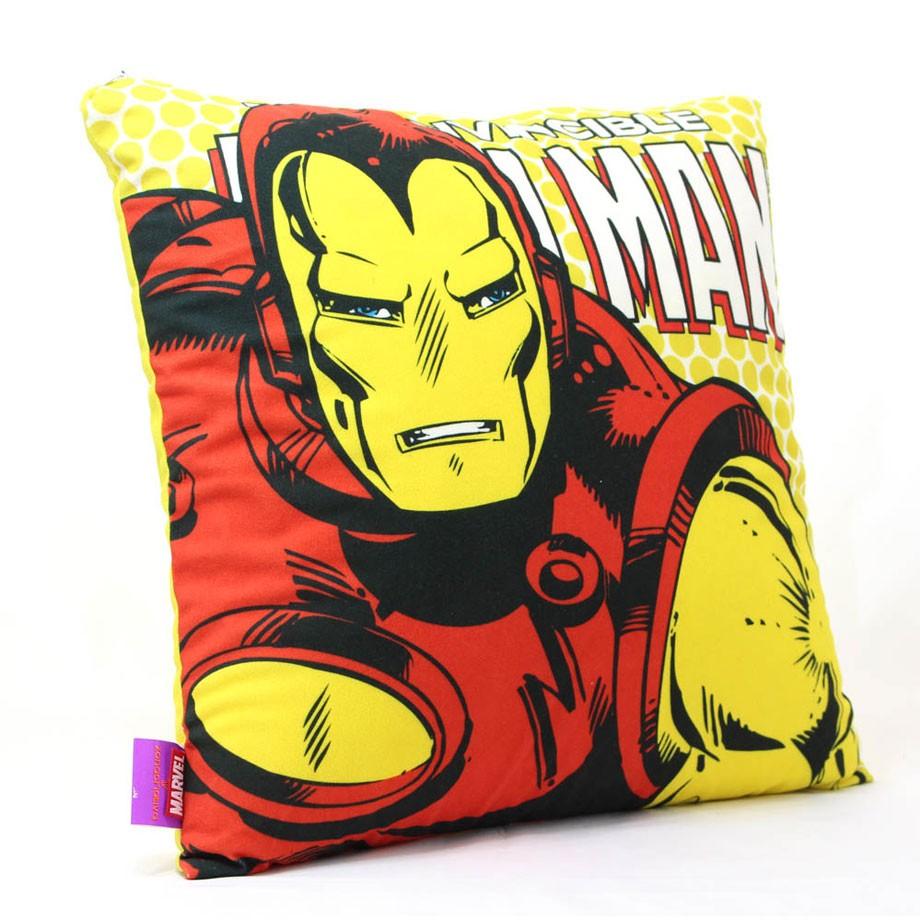 Almofada Homem de Ferro Pop Art