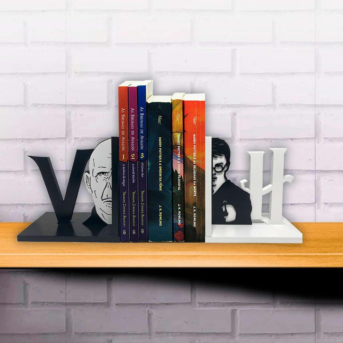 Aparador de Livro Harry x Voldemort