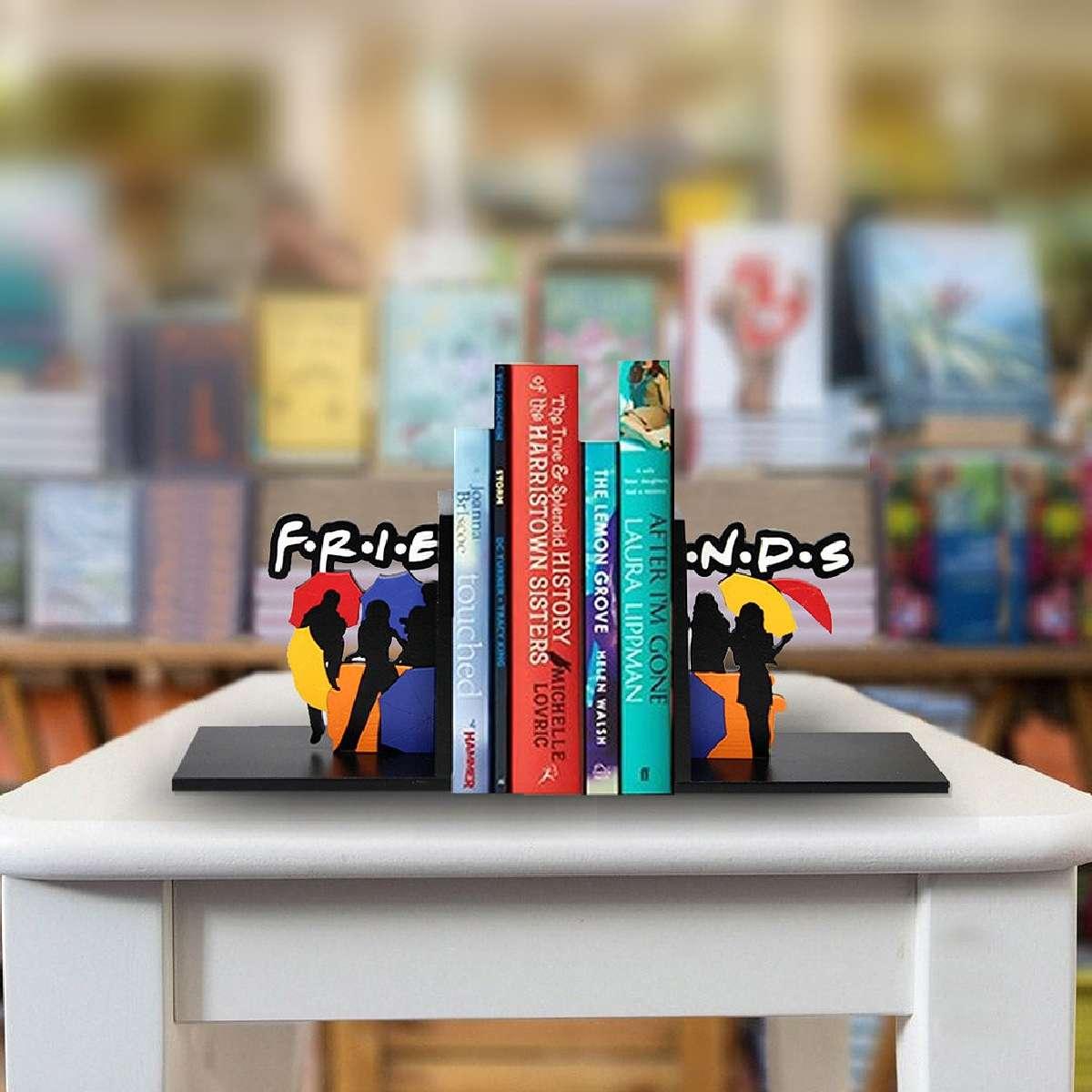 Aparador de Livro Sofá Friends