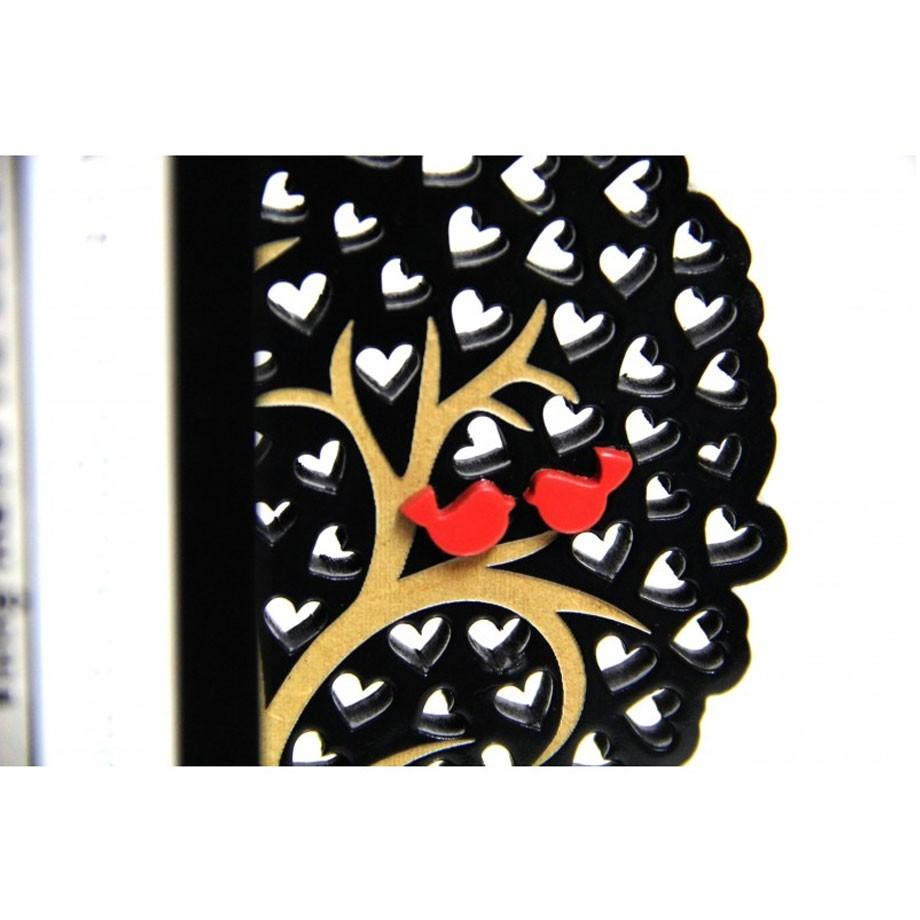 Aparador de Livros - Árvore do Amor