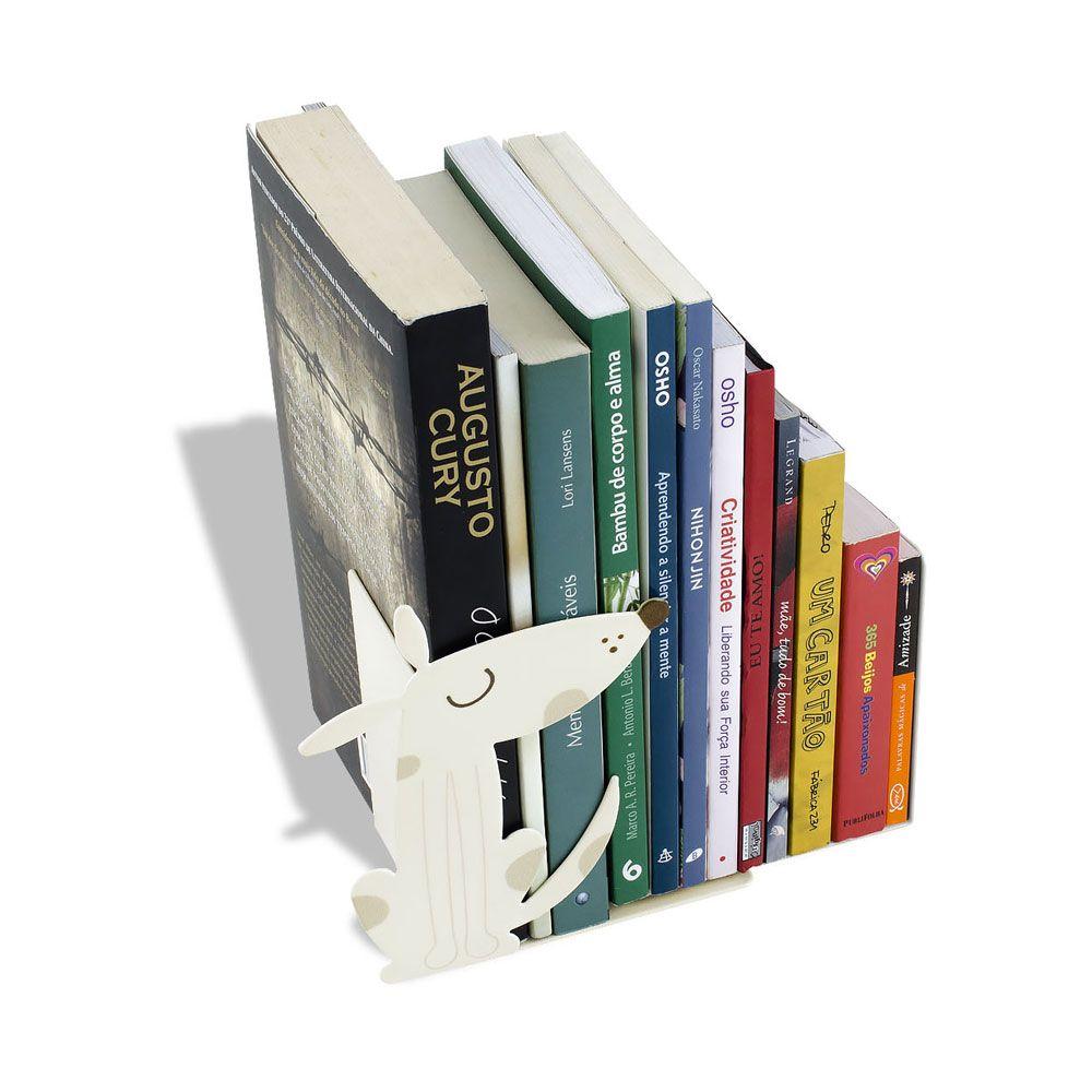 Aparador de Livros Cachorro Bege