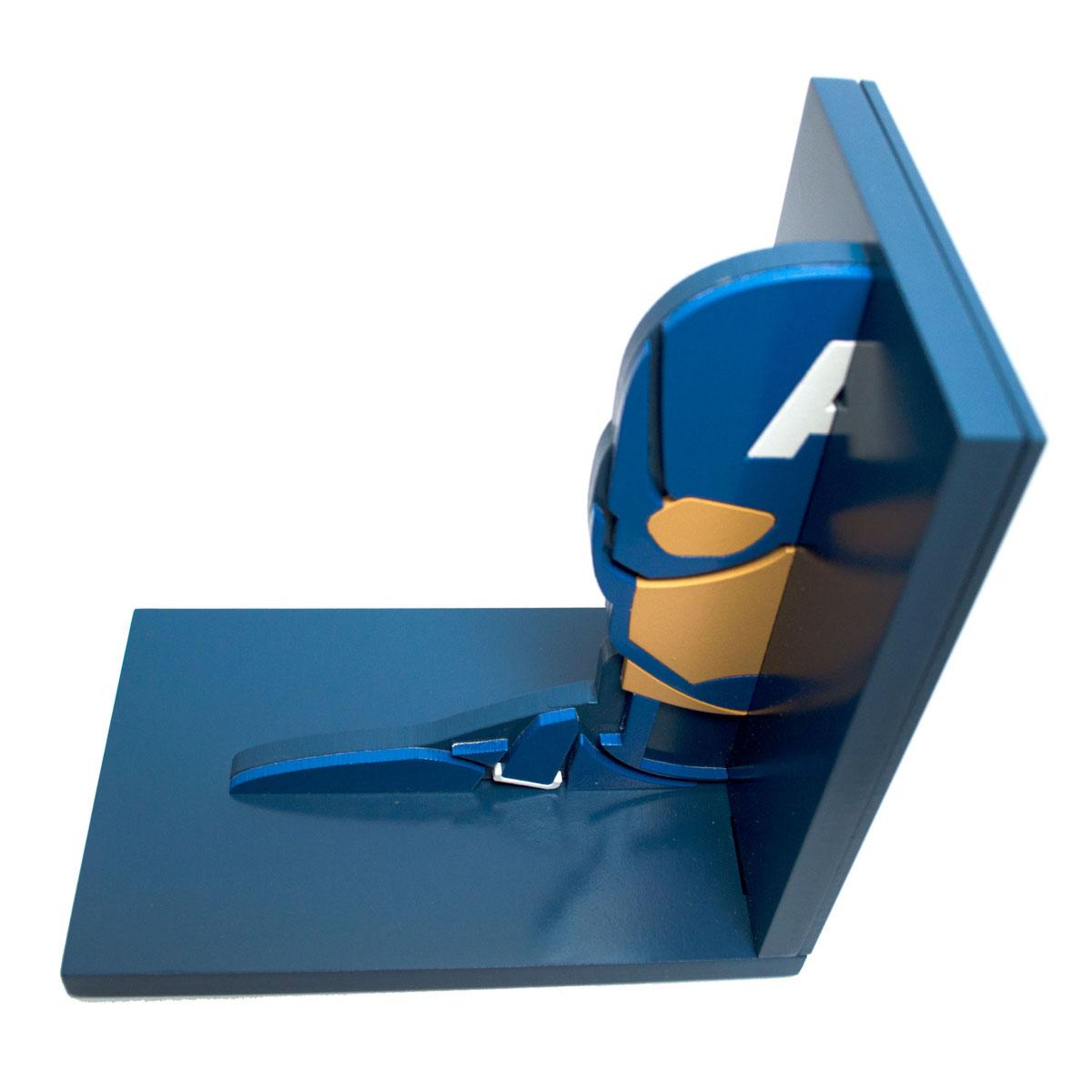 Aparador de Livros Capitão América Vingadores The Avengers Marvel FBA