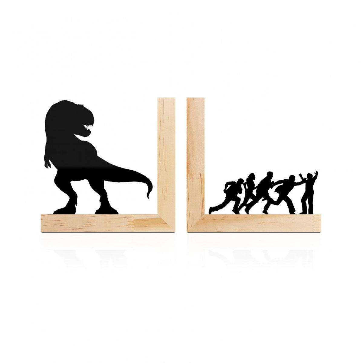 Aparador De Livros Dinossauro Jurassic Park Pinus