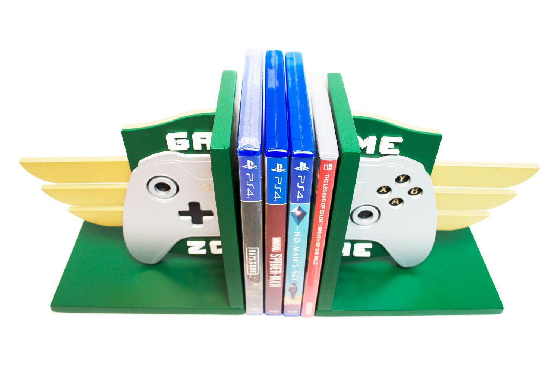 Aparador de Livros e Jogos Controle Xbox One Troféu