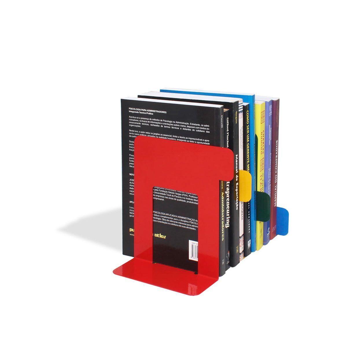 Aparador de Livros Fichário Colorido
