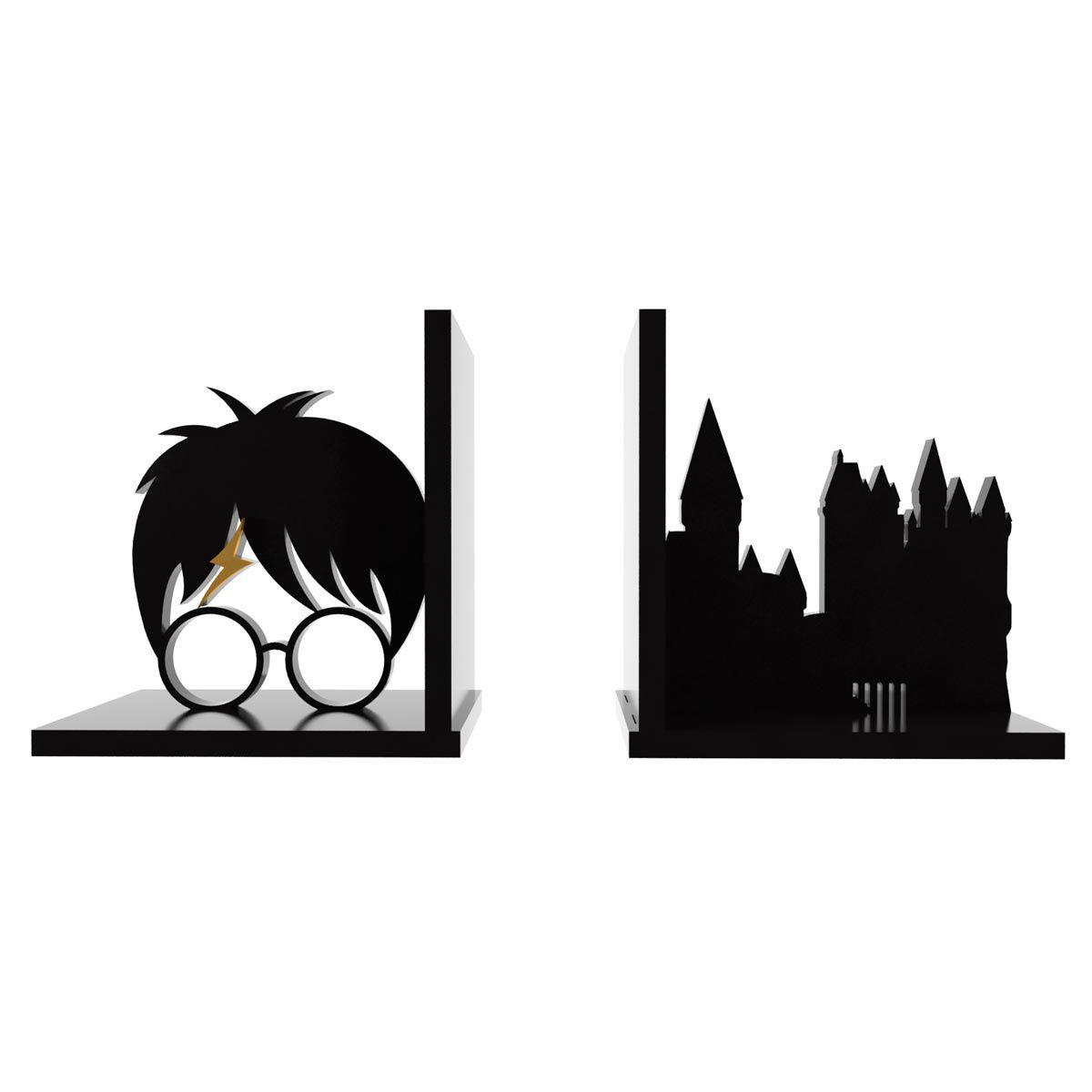 Aparador de Livros Harry Potter Hogwarts