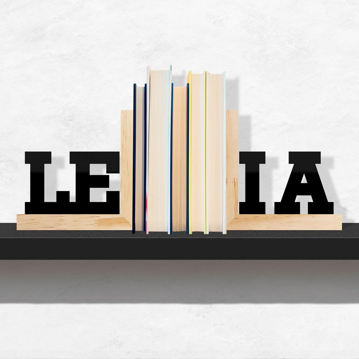 Aparador De Livros Leia Base Pinus