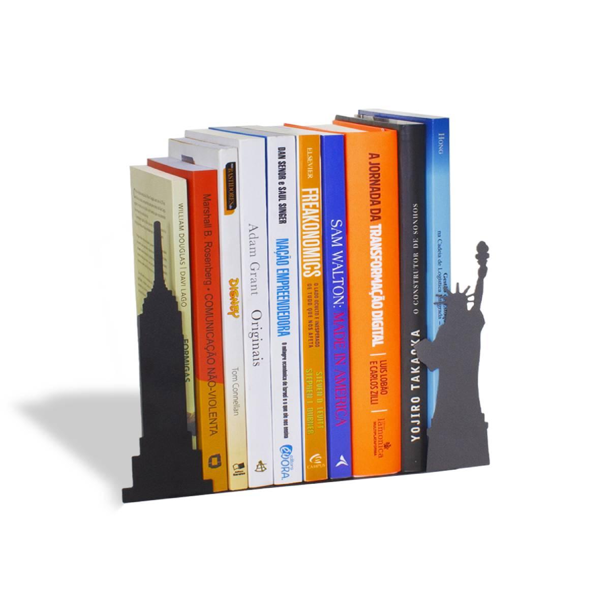 Aparador de Livros New York City NYC Nova Iorque