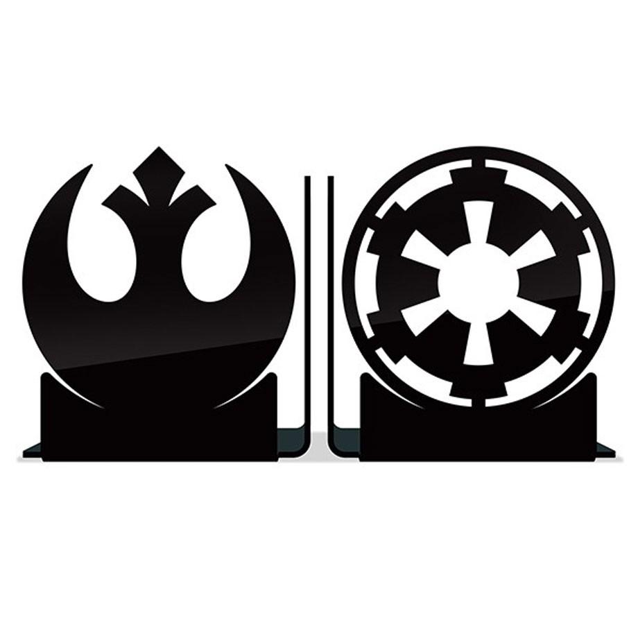 Aparador de Livros Star Wars - Rebeldes vs Império