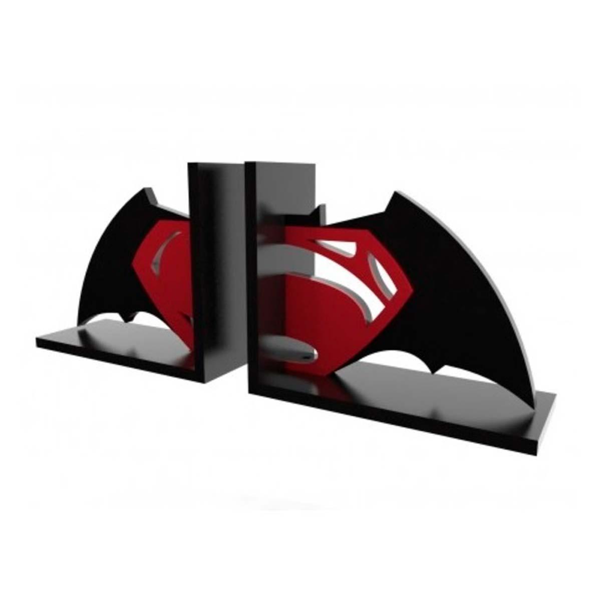 Aparador de Livros Super Herói - Batman vs Superman FBA
