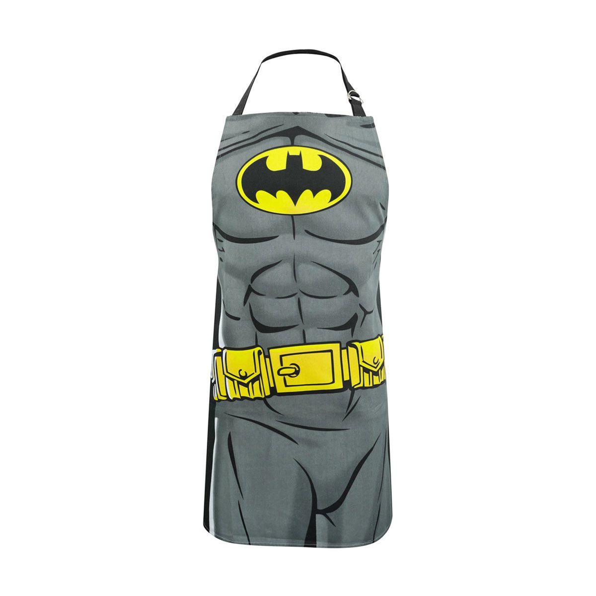 Avental Algodão Batman Body Liga da Justiça DC Comics