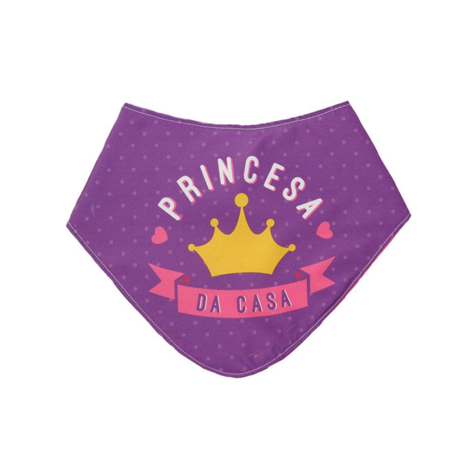 Babador Bebê Princesa da Casa