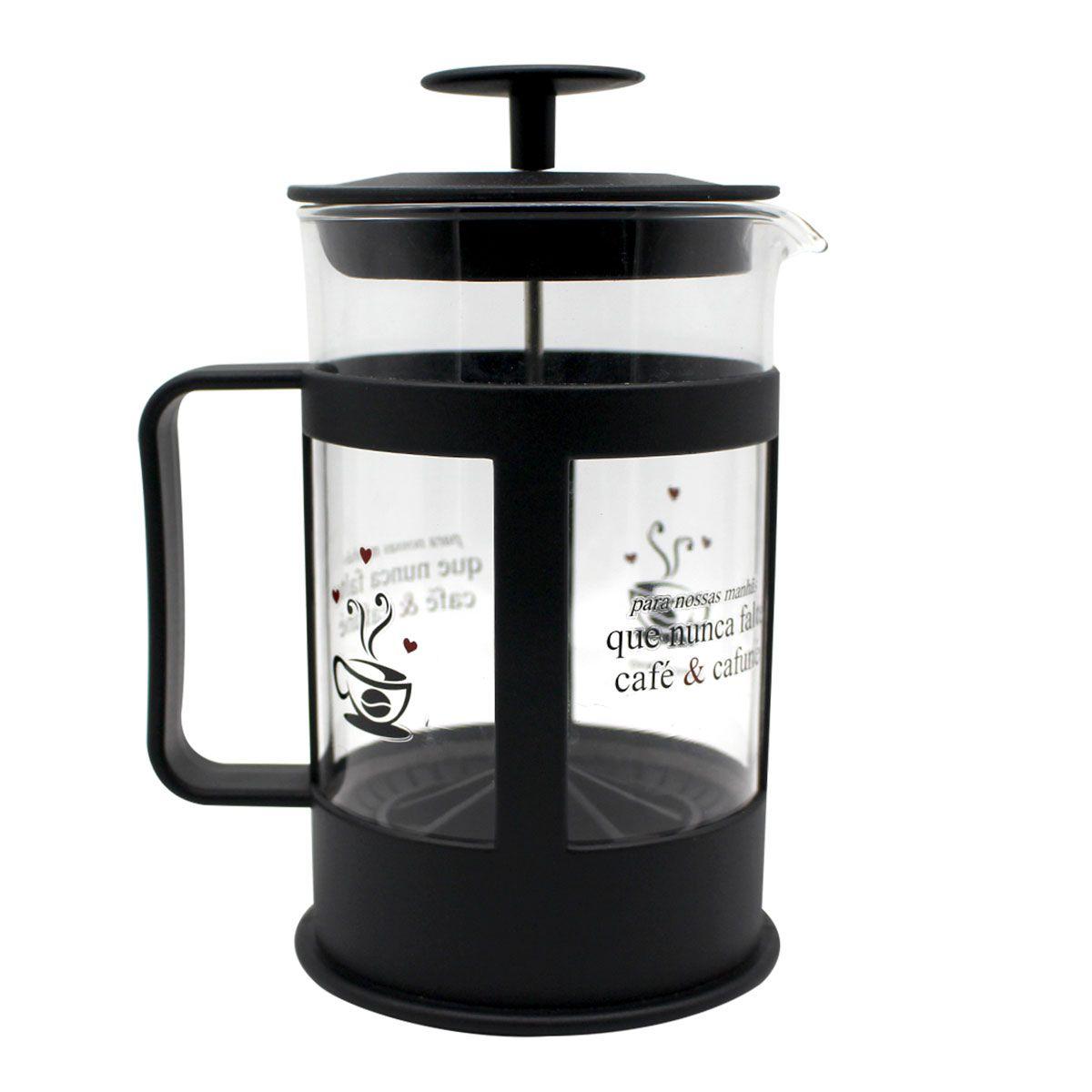 Cafeteira Francesa Café e Cafuné 600 ml