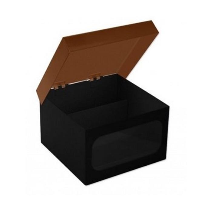 Caixa de Metal Porta Esmalte Onça Oncinha