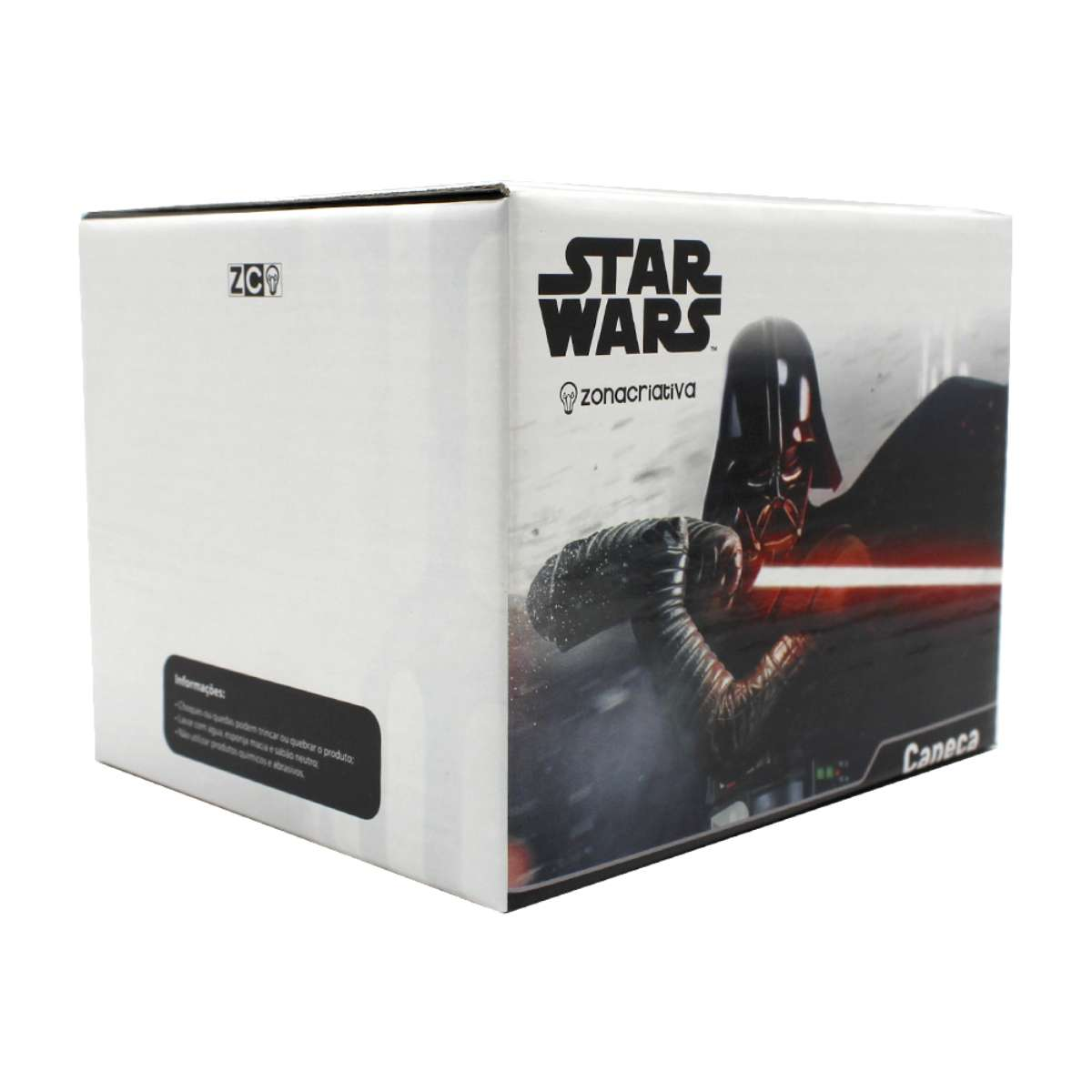 Caneca 3D Formato Stormtrooper Star Wars 500 ml