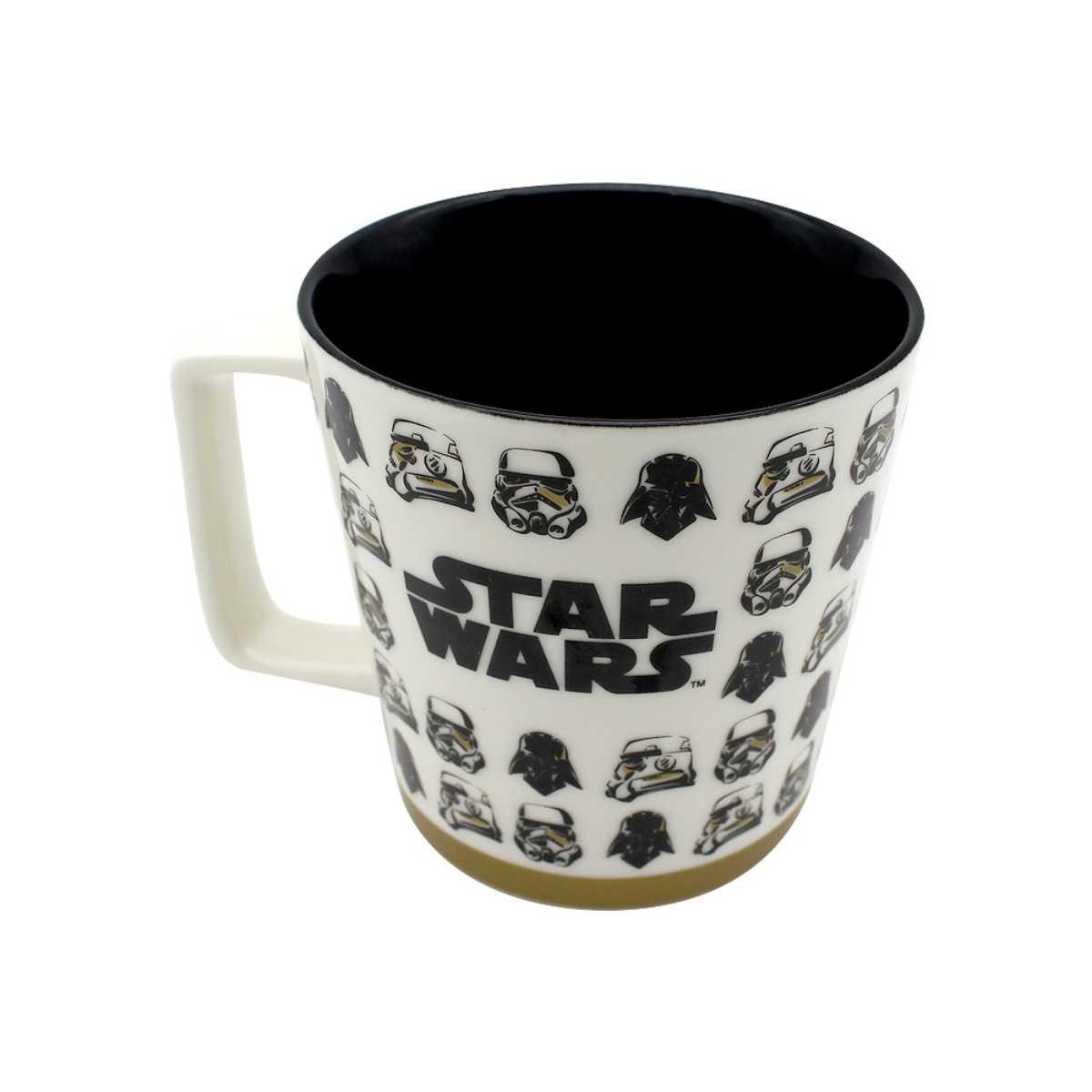 Caneca Alça Quadrada 400 ml Stormtroopers Star Wars